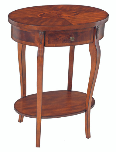 Oval End Table - PUT012
