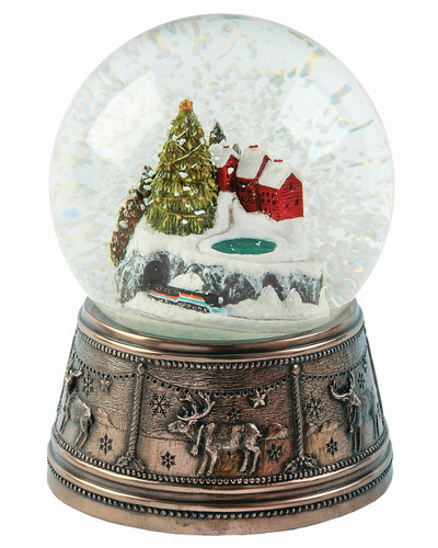 Christmas Town Snow Globe - MM033