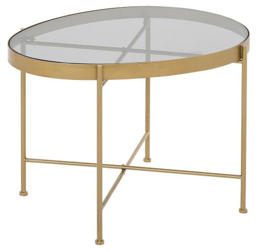 Austin Table Large (Grey Glass) - TF030