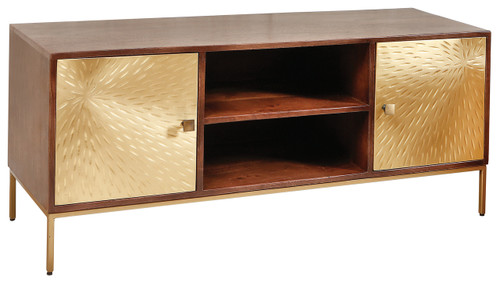 Saint-Malo 2 Door/ 2 Shelf Unit - IFH004