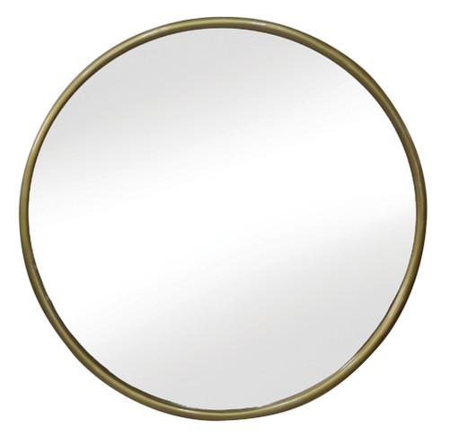 Bilbao Mirror Antique Brass - AZ017