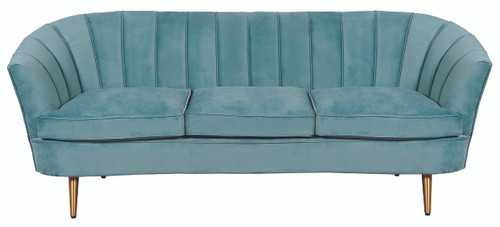 Nimes 3 Seater Sofa Sea Green - NIN019