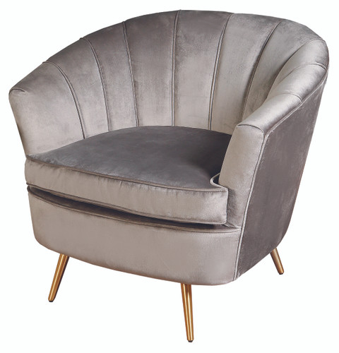 Nimes 1 Seater Grey - NIN022