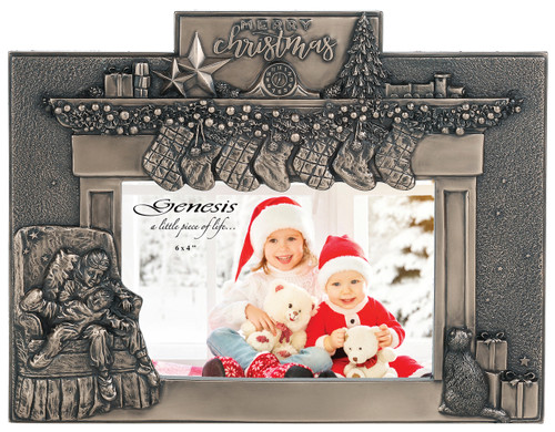 Christmas Fireplace Frame (RR032)