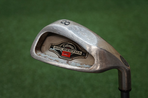 Callaway  1994 Big Bertha Stiff Flex Single Iron 8 Iron  Graphite 0268952 Used