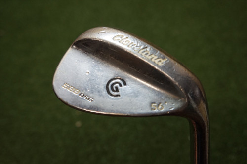 Cleveland  588OSG 56 Degree Wedge Regular Flex Steel Shaft 0280413 Used Golf