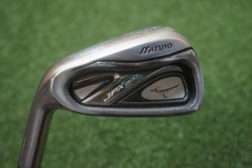 LH Mizuno JPX 800 Stiff Flex Single 6 Iron Steel Shaft 0282722 Used Golf