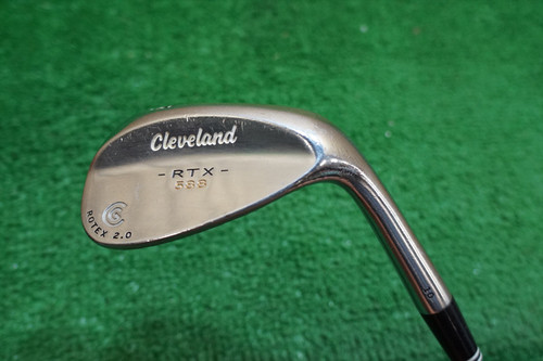 CLEVELAND  588 RTX 2.0 TOUR SATIN 58 DEGREE WEDGE  FLEX  STEEL 0707157