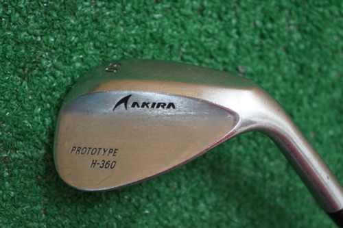 Aakira Prototype H-360 60 Degree Regular Flex Steel 0283346 Good Used Golf