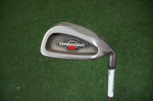 Callaway  Big Bertha 1996 Stiff Flex Single Iron 9 Iron Steel 0271053