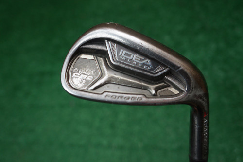 Adams  Idea CB2 Black Stiff Flex Single Iron GW Gap Wedge  Steel 0254506