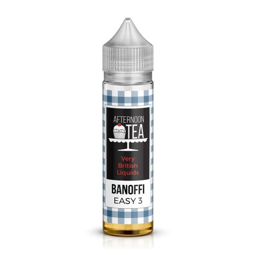 Banoffee Shortfill E-Liquid from the Afternoon Tea Range by EasyMix  Liquids