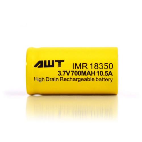 18350 800mAh 10.5A Battery by AWT