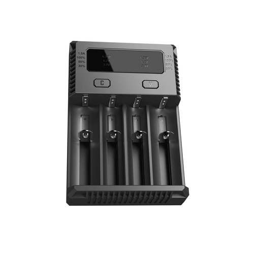 New i4 Intellicharger battery charger by Nitecore