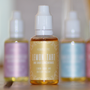Lemon Tart One-Shot Flavour Concentrate by Humble Pie ,shown here in a grouped  life style shot