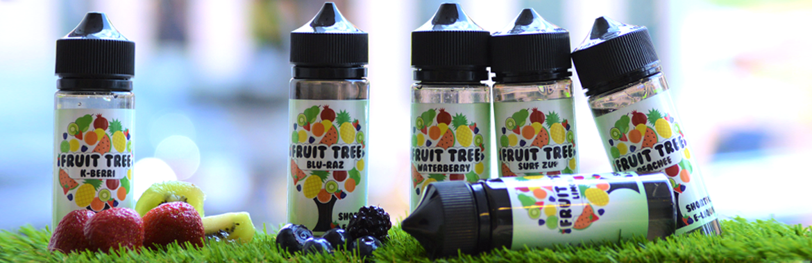 Fruit Tree Short fill e-liquid with fresh fruit and grass
