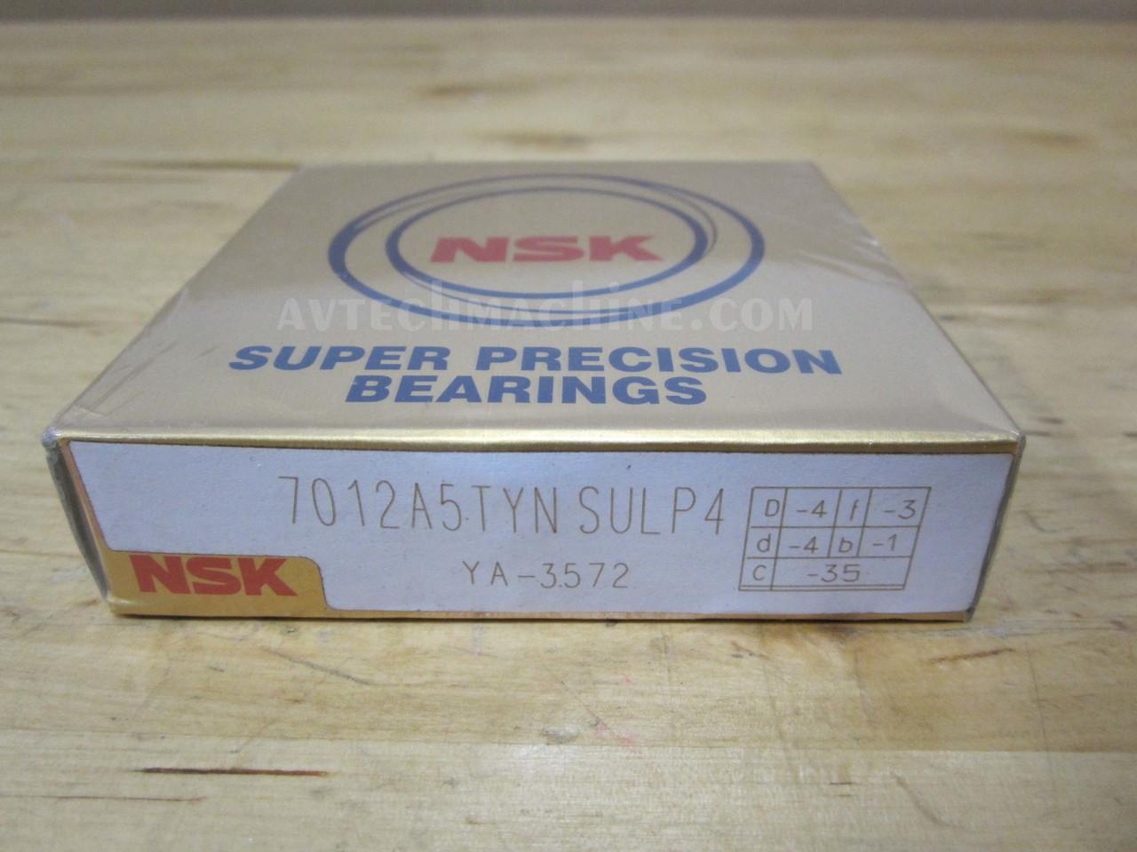 NSK Super Precision Bearing 7008A5TYNSULP4