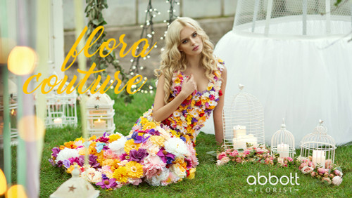 Flora Couture: A Love Affair Between Fashion and Flowers