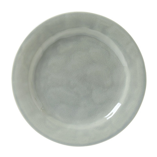 Juliska Puro Mist Grey Crackle Dinner Plate