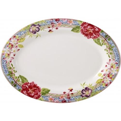 Gien France Millefleurs Medium Oval Platter  sc 1 st  The White Dogwood & Brands - Gien France - Millefleurs by Gien France - The White Dogwood