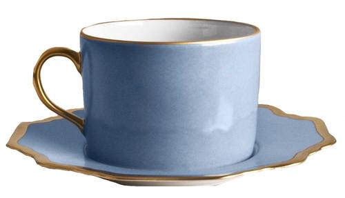 Anna Weatherley Anna's Palette Sky Blue Tea Cup