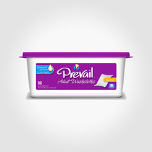 Prevail Premium Adult Washcloths- (Single Tub) WW-901