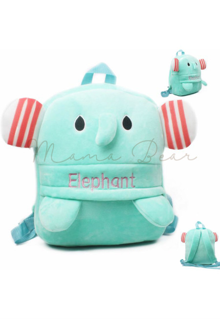 Little Elephant Kids Fur Bag (Big)