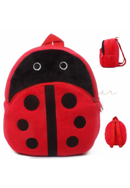 Lady Bug Kids Fur Bag (Small)