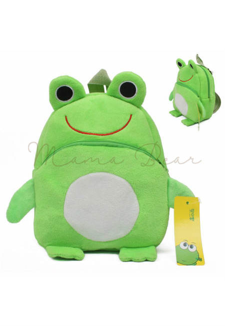 Cute Frog Kids Fur Bag (Small)