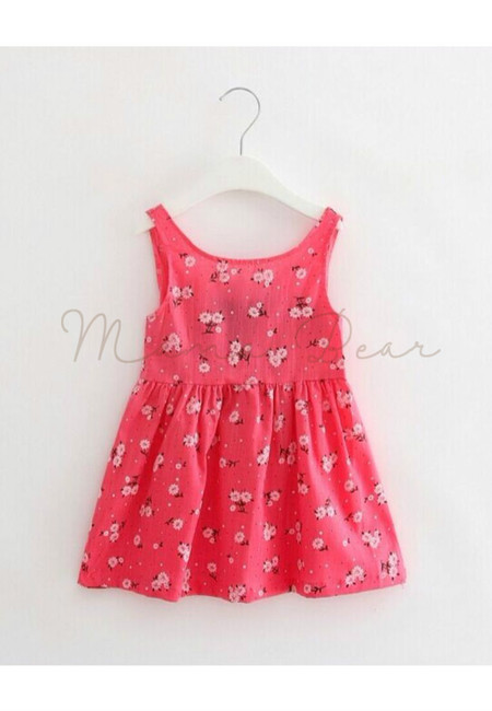 Lovely Daisy Sleeveless Dress