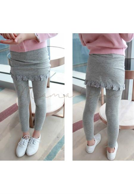 Simple Skirt Leggings for Kids