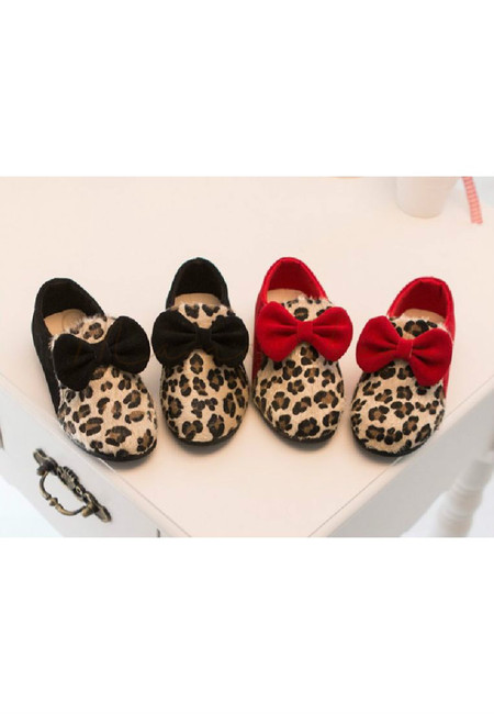 Fashion Leopard Kid Shoes