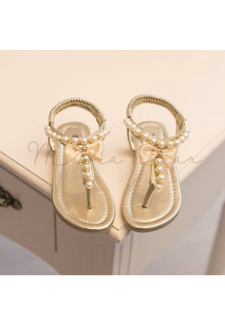 Pearl Thong Kid Sandals