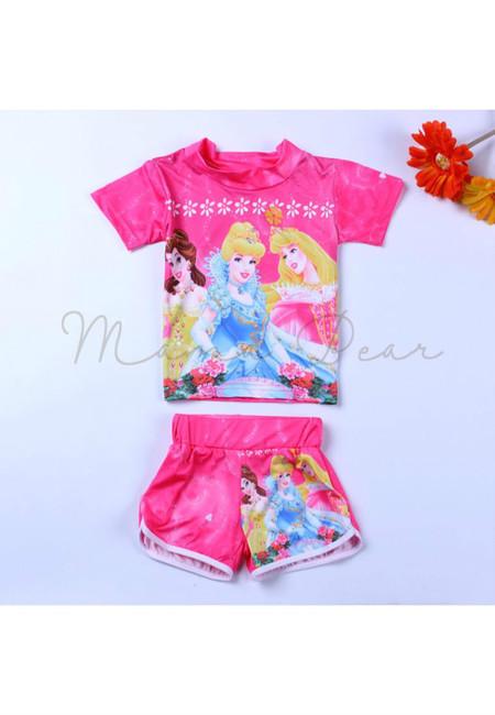 3 Disney Princesses Kids Swimwear Set