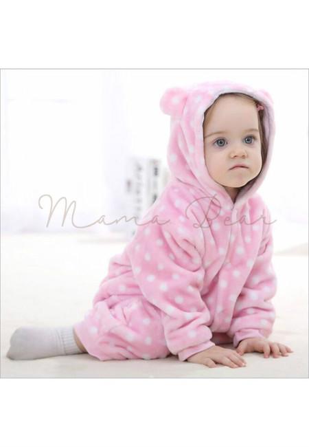 Pink Girly Monkey Baby Onesies