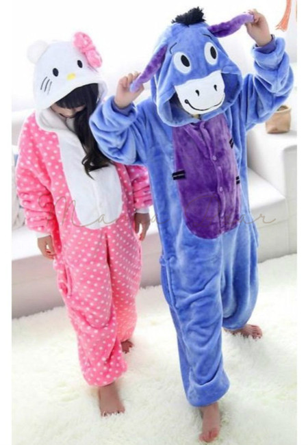 Eeyore or Hello Kitty Kids Onesies