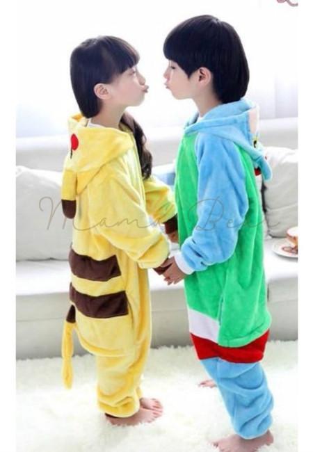 Pikachu or Shin Chan Kids Onesies