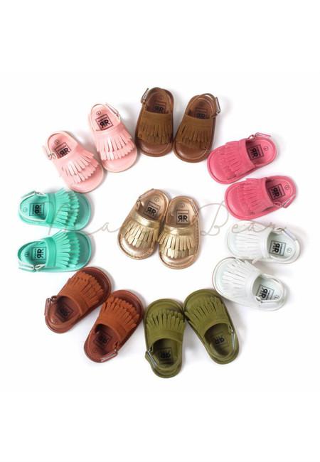 Summer Fringes Baby Sandals