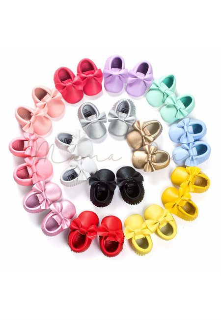 Tassel Ribbon Casual Baby Shoes