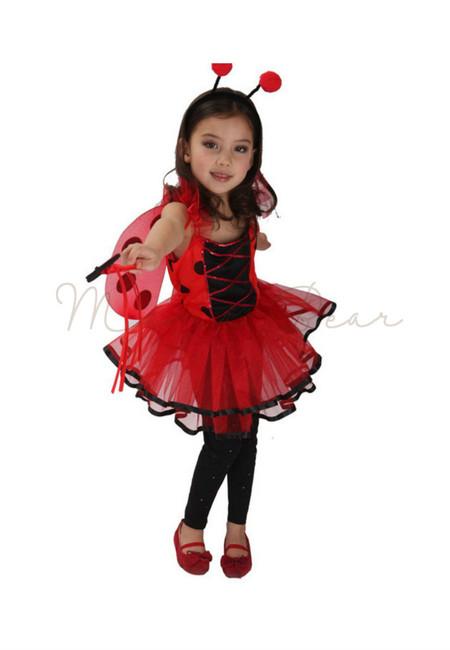 Lady Bug Kids Costume