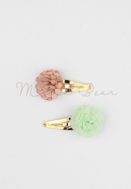 Wild Flower Baby/Kids Hairclip Set