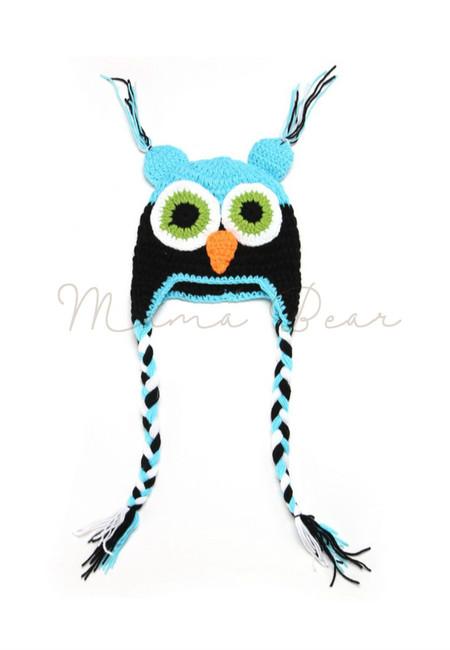 Little Owl Baby Crochet Hat