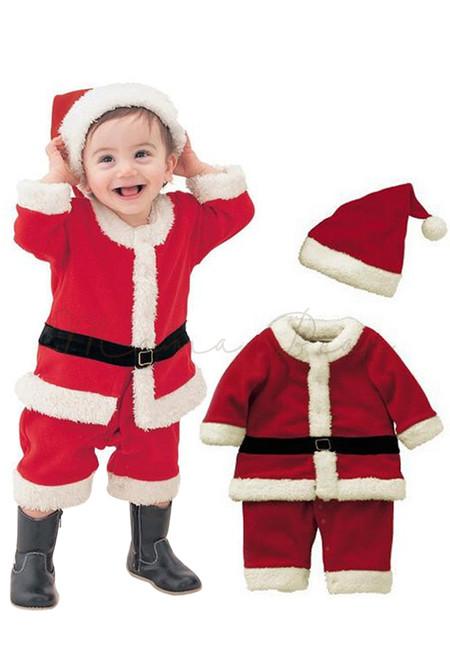 Santa Claus Baby Costume w/ Hat