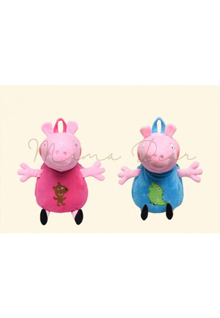 Peppa Pig Kids Plush Backpack
