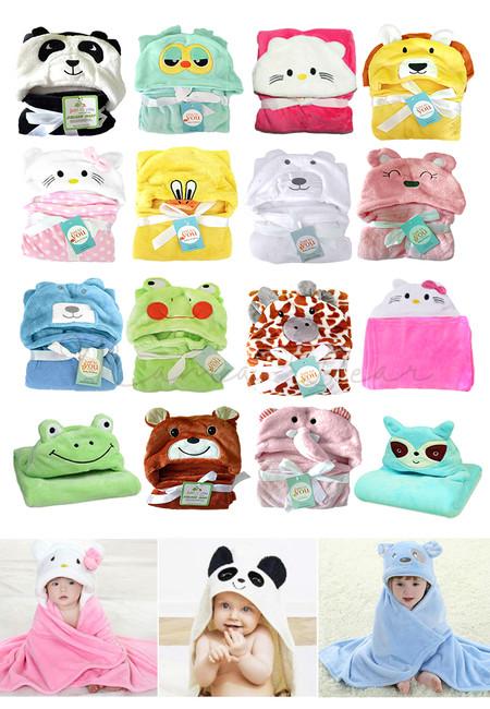 Water Absorbent Baby/Kids Blanket Bath Towels