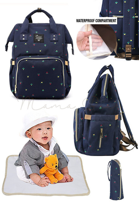 Multifunction Mommy Diaper Nappy Backpack Travel Bag
