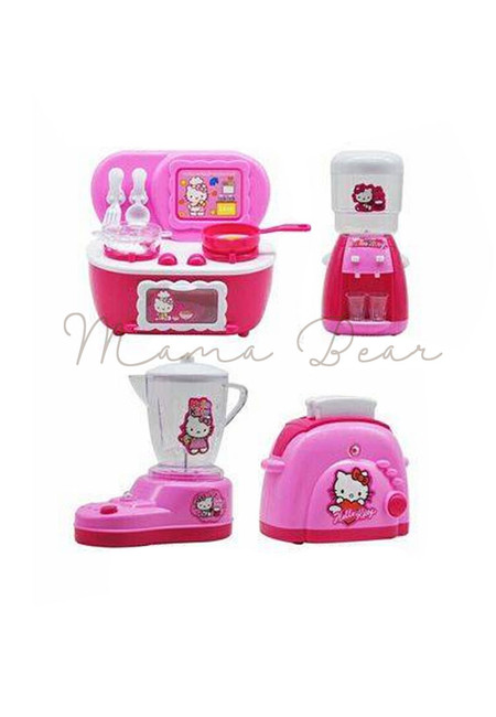 Hello Kitty Simulated Kitchen Play Set Toy