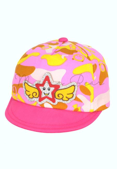Happy Star Camouflage Cap