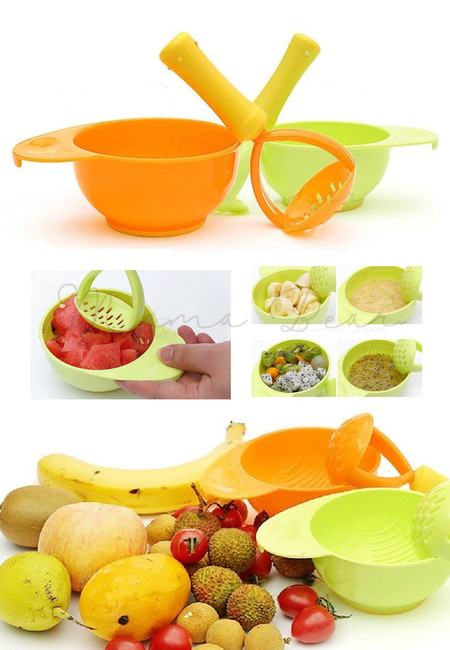 Baby Food Supplement Grinding Tool & Bowl