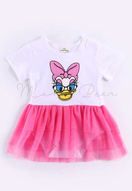Baby Girl Tutu Daisy Duck One Piece Romper
